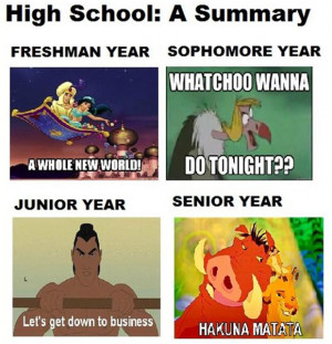 funny quotes about high school