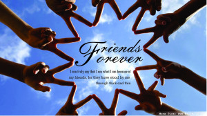 File Name : Friends Forever Quotes Wallpaper Nice HD 19311