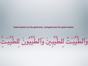Good men & good women