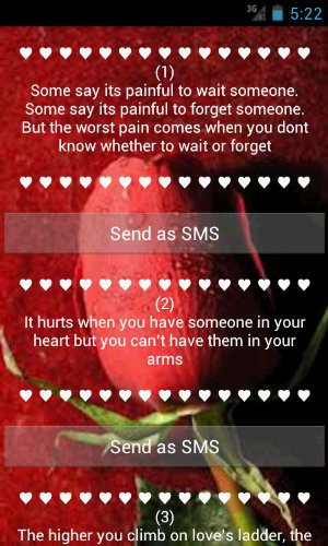 Sad Love Quotes - Amazon Mobile Analytics and App Store Data