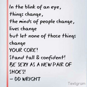 change #life #shoes #quote ;-)