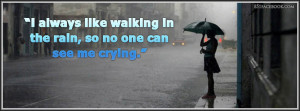 emo-quote-rain-sad-depressed-lonely-woman-girl-person-umbrella-black ...