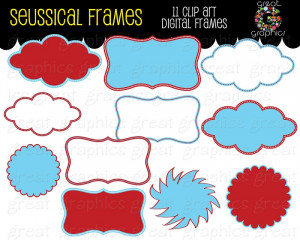 Quote Frames Clipart