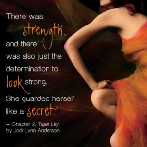 Tiger Lily Quote #1