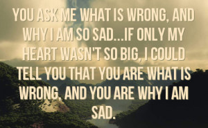 Situations of I AM Sad Quotes what i cant make a can live without