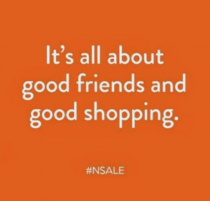 Good Friends = Good shopping