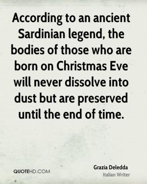 Grazia Deledda Christmas Quotes