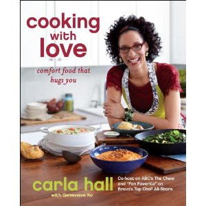 Carla Hall Autographed Book Cooking With Love Top Chef The Chew