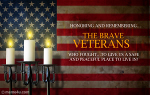 Veterans Day Message Card Tribute Ecard