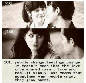 500 days of summer, quote on love or the lack thereof