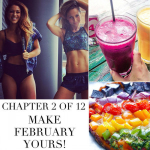 Lara Bingle, Healthy Smoothies and Motivational Quotes