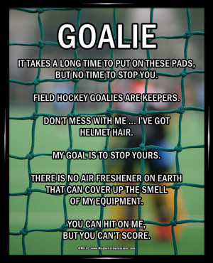 Soccer Goalie Quotes Inspirational. QuotesGram