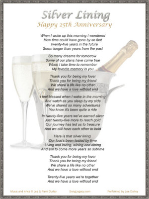 ... wedding anniversary quotes quotes and sayings 25th wedding anniversary