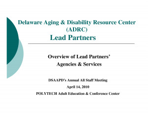Delaware Aging And Disability Resource Center Adrc picture