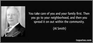 More Al Smith Quotes