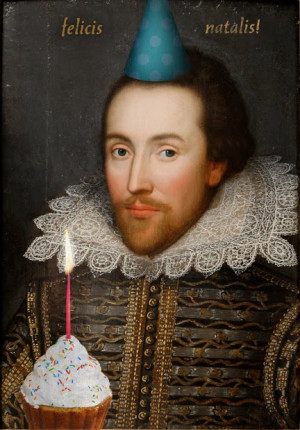Happy Birthday Shakespeare