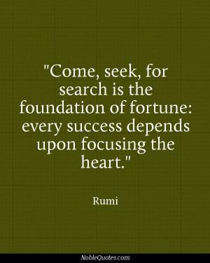 Rumi Quotes | http://noblequotes.com/