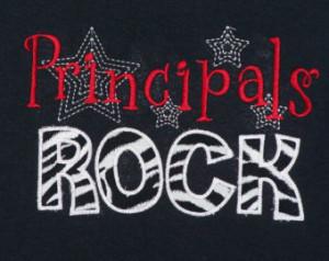 Principals Rock shirt School Staff shirt Principal gift ...