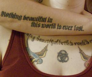 Sibling Tattoos by Vashtia