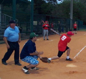 Funny Slow Pitch Softball Quotes Media league three-pitch