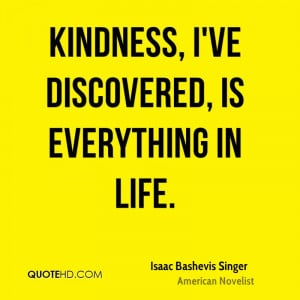 Isaac Bashevis Singer Life Quotes