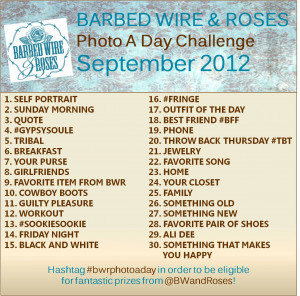 Be sure to post something every day and tag it with #bwrphotoaday.