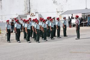 unarmed drill team