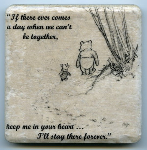 Winnie the Pooh with Life and Love Quotes and Sayings for Living Room ...