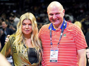 Steve Ballmer Shows Fergie Some 'L.A.Love' with a Clippers Game Dance