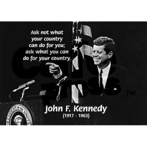 Famous Quote From Jfk Mug...
