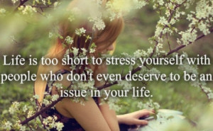cute life is too short picture quote