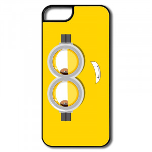 For Iphone 5 Lovely Minion Face School quotes Cover For Iphone 5s ...