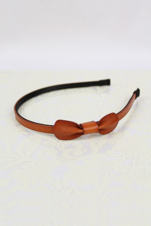 Pure Bliss Headband in Camel Red