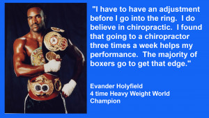 Home > Testimonials > Famous People on Chiropractic