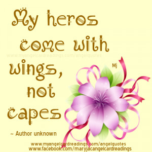 Angel Poems and Quotes