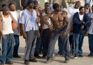 ... of Terry Crews, Nelly and Michael Irvin in The Longest Yard (2005