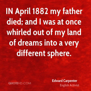 Edward Carpenter Dreams Quotes