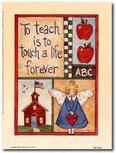 One good teacher in a lifetime may sometimes