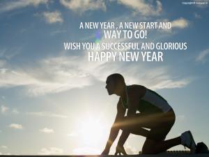 New Year Motivational Wallpaper