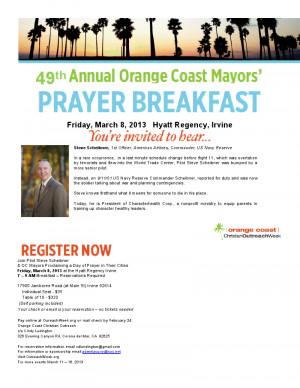 Men Prayer Breakfast