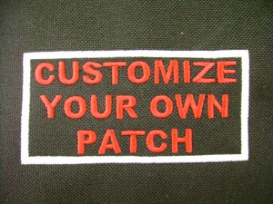 Personalized Patch Biker Patch Motorcycle Club Patch Sayings