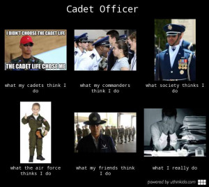Cadet Officer What People