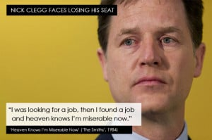 ... real prospect that he may lose his seat in his Sheffield constituency
