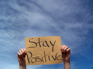How to stay positive is something I have spent some time thinking ...
