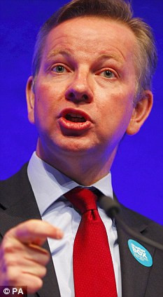 MICHAEL GOVE: We must return to traditional teaching values