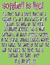 Softball Is Life Quotes And softball quotes