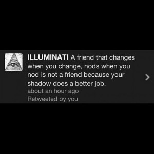 illuminati #twitter #quote #words (Taken with Instagram )