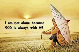 am not alone images quotes free