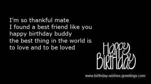 Happy Birthday Best Friend...