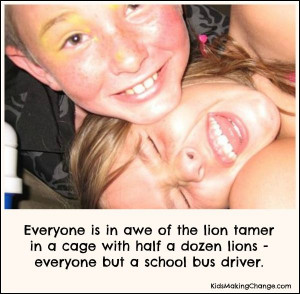 ... must to be a successful school bus driver ;-) #funny #kids #quotes